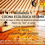 Biodanza y cocina ecológica vegana